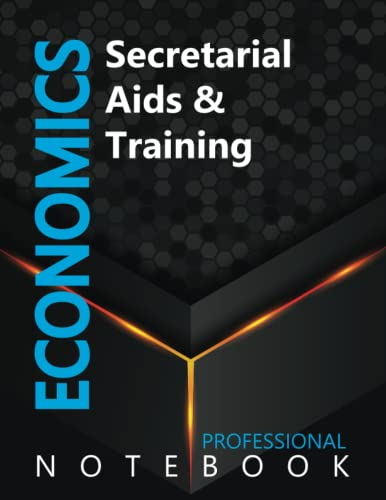 """Compare Textbook Prices for Economics, Secretarial Aids & Training Ruled Notebook, Professional notebook, Journal for Business & Economics Professional, Large 8.5"""" x 11"""" size, 108 pages, Glossy cover  ISBN 9798491517916 by Cre8tive Press"""