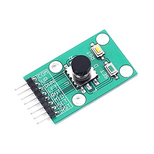 ARCELI Tecla de navegación de 5 vías Botón de menú del Teclado del Joystick Módulo 3.3V 5V para Arduino Raspberry Pi
