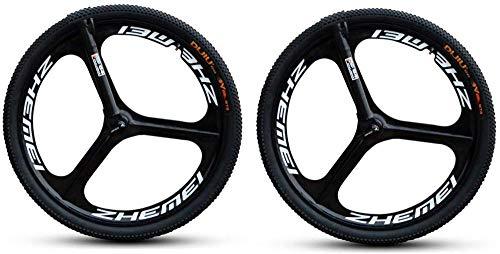 LIMQ MTB Mountainbike Fahrrad 26 Zoll Räder Laufradsatz Felgen Spin Rad Set DIY Magnesiumlegierung DREI Messer EIN Rad Schnellspanner Rad
