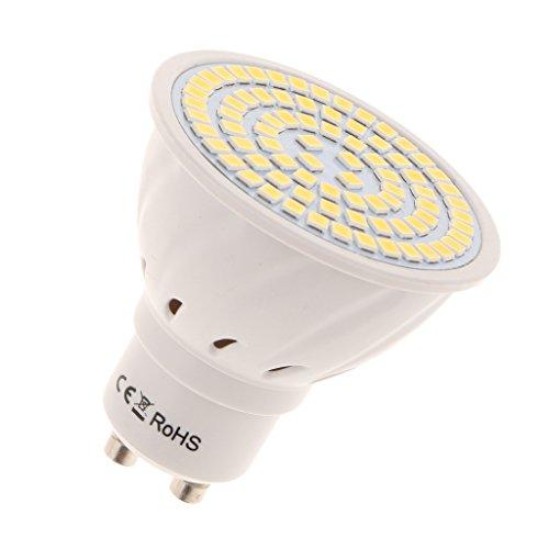 MagiDeal 220V LED Ampoule à Vis Non-dimmable GU10 250lm d'Intérieur - Blanc chaud 8W