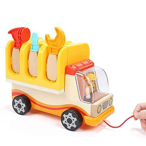Lihgfw Demontage und Montage der Mutter Construction Truck Educational Toy Boy Schatz Zerlegen und Zusammenbauen Hands-on for Jungen im Alter von 2-15-geeignet for Kinder über 3 Jahre
