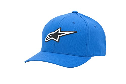 Alpinestars Corporate - Casquette de Baseball - Homme - Bleu (Blue) - Large (Taille fabricant: Large/X-Large)