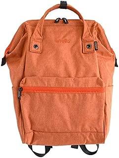 FYXKGLa New New Explosions Frosted Oxford Polyester Cloth Rims Open Shoulder Bag Backpack Bag Large (Color : Orange)