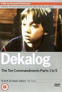Dekalog: Parts 1-5 [DVD] [1988] (B00005V4UF) | Amazon price tracker / tracking, Amazon price history charts, Amazon price watches, Amazon price drop alerts