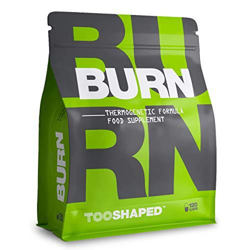 BURN Kapseln mit L-Carnitin, Grüner Tee, Aminosäuren & Co - 120 Kapseln von TOOSHAPED
