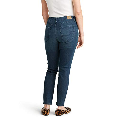 Signature by Levi Strauss & Co. Gold Label Women's Totally Shaping Skinny Jeans, Blue Laguna, 2 Short
