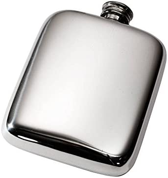 Wentworth Ranking TOP11 Pewter - 4oz Plain Flask Be super welcome Pocket