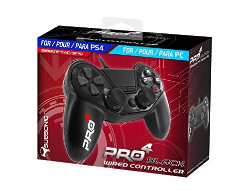 Mando cable Pro4 black wireds controller - Accessorio