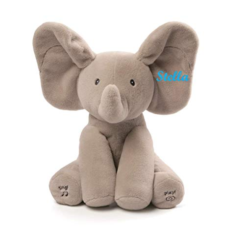 Gund Baby Animated Plush Toy Collection (Custom Personalized Flappy)