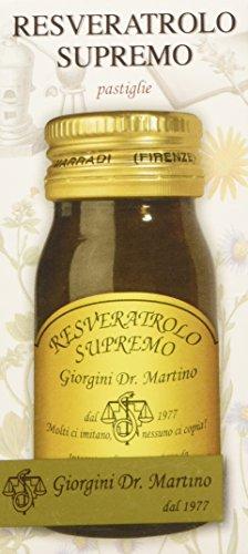 Dr. Giorgini Integratore Alimentare, Resveratrolo Supremo Pastiglie - 30 g