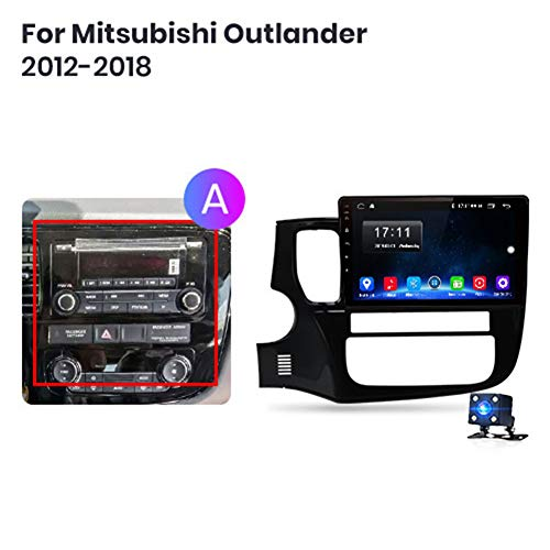 Great Features Of NBVNBV 2G 32G Android 9.0 4G Multimedia Video Player Navigator GPS for Mitsubishi ...