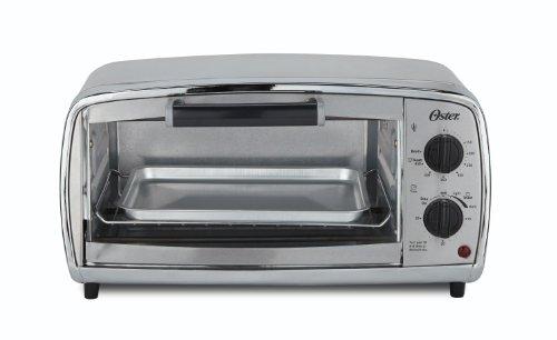 Oster Toaster Oven, 4 Slice, Stainless Steel (TSSTTVVGS1)