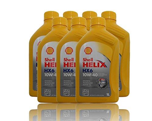 Shell Helix Ultra HX6 10W-40 7x1 liter motorolie