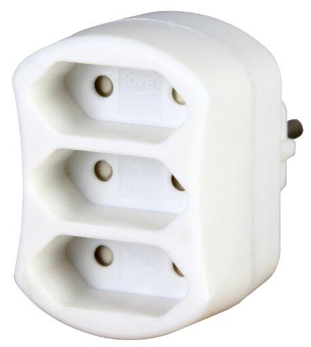 Kopp 471302003 Adapter 3-Fach, weiß