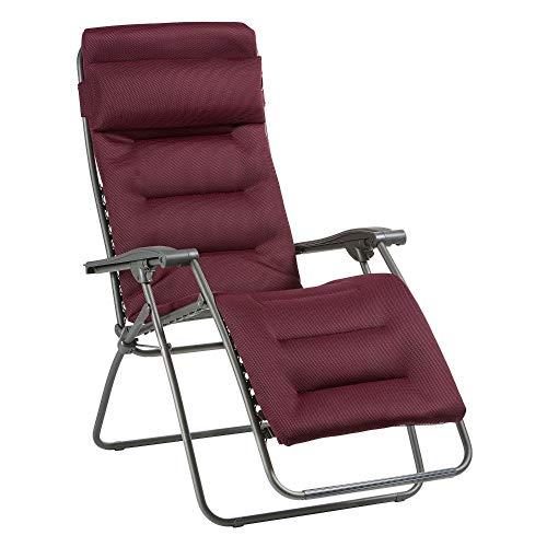 Lafuma Relax-Liegestuhl, Klappbar und verstellbar, RSX Clip, Air Comfort, Bordeaux, LFM2038-8720
