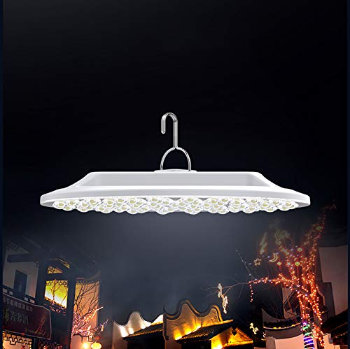 ASDSDF Lámpara de Camping LED, Linterna Recargable USB, 15000mAh, luz de Campamento colgable para Uso Exterior e Interior