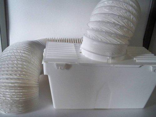 Condensbox voor afvoerdroger, droger incl. afvoerslang