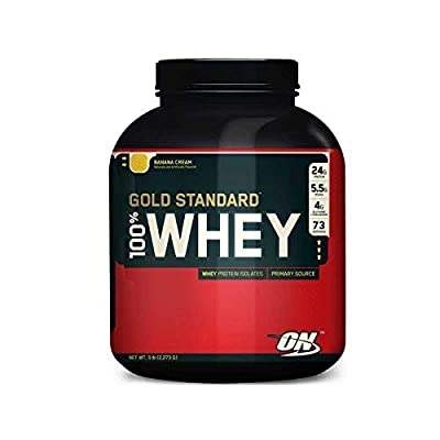 Optimum Nutrition Gold Standard Whey Protein Powder with Glutamine and Amino Acids by Optimum Nutrition