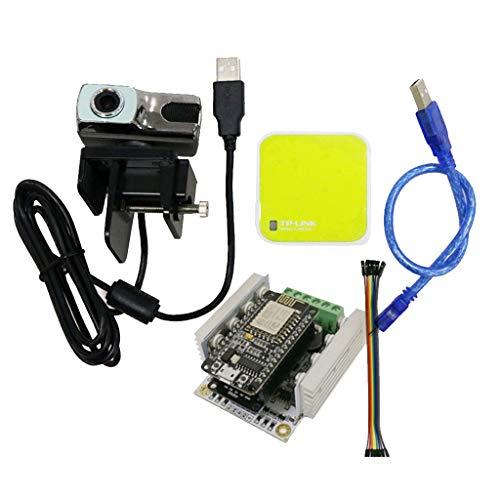 perfk Hochleistungs-Nodemcu ESP8266 WiFi-Entwicklungsplatine für Überwachungskamera für DIY-Fernbedienung für Arduino