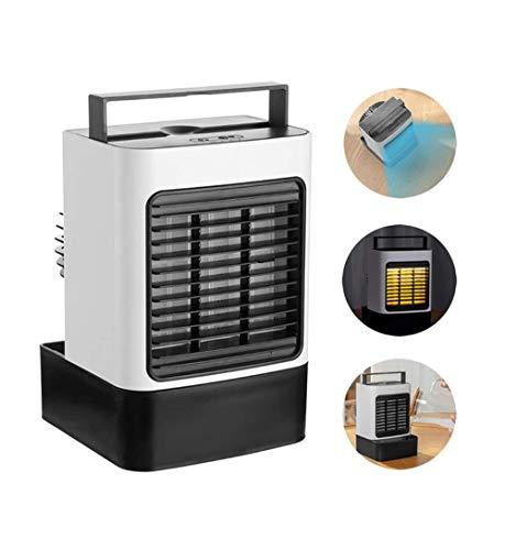 Desktop Koude Lucht Ventilator, Luchtstroming Koelventilator 3-in-1 USB Luchtbevochtiger Luchtreiniger Kan Dempen Ice-kamer Woning Kantoorwerk En Warmte Maatregelen Hitteberoerte