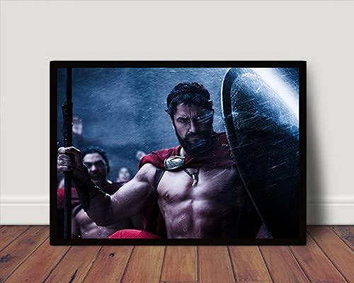 Quadro/Poster Com Moldura Leonidas 300 Esparta P2507