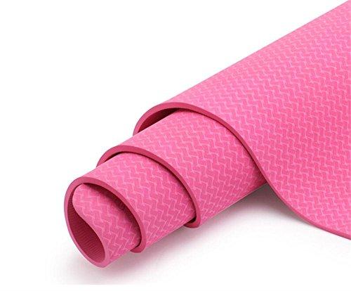 principianti ambientale insapore TPE yoga tappetino antiscivolo Yoga Mat coperta