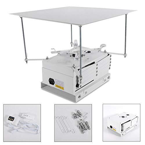 OUBAYLEW 100cm Proyector Soporte motorizado eléctrico Ascensor, Soporte de Techo eléctrico para...