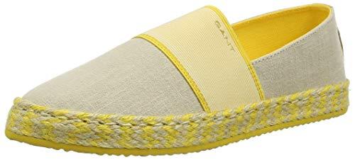 GANT Footwear Damen RAFFIAVILLE Slipper, Beige (Dry Sand G22), 41 EU