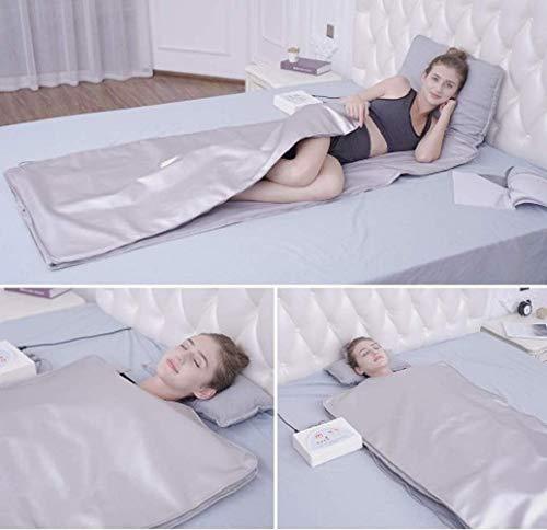 HUKOER Manta de sauna de infrarrojos lejanos que adelgaza la máquina combinada de la terapia del detox de la pérdida de peso de la sauna 3