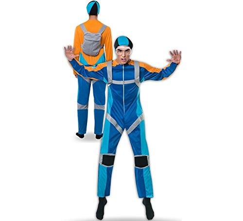 Yuppiyei Disfraz de Paracaidista para Hombre