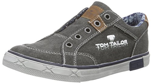 Tom Tailor Kids Jungen Tom Tailor Kinderschuhe Slipper, Grau (Coal), 34 EU