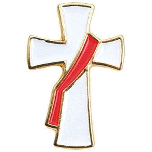Deacon's Cross Lapel Pin