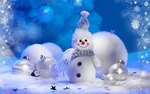 WACYDSD Puzzle 1000 Piezas Marioneta De Muñeco De Nieve Blanca Puzzle para Adultos Puzzle para Niños Juguete Decoración del Hogar 75x50cm