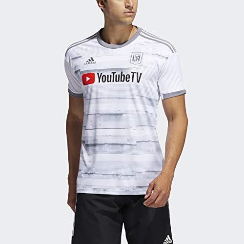 adidas Los Angeles FC Away Jersey Men's, White, Size M