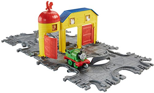 Fisher Price Thomas & Friends Take-n-Play Farm Tile Tracks with Percy Train