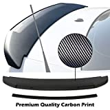 High Performance Part Trunk Spoiler Compatible For 10-14 Mustang GT V6 GT500 Style (Carbon Print)