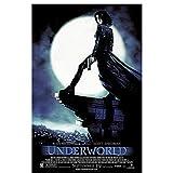 Underworld (2003) carteles e impresiones de películas lienzo arte pared decoración del hogar lienzo pintura imágenes impresión -50x70cm Sin marco