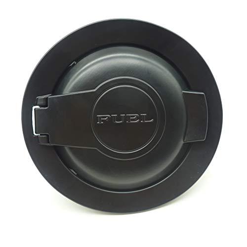 dodge challenger fuel door black - 7