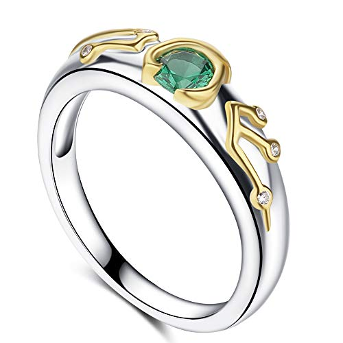 Purreen Zelda Ring Sheikah Eye Slate Kokiris Emerald Inspired (6)