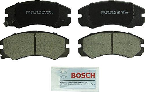 Bosch BC579 QuietCast Premium Ceramic Disc Brake Pad Set For Select Acura SLX; Honda Passport; Isuzu Amigo, Axiom, Rodeo, Rodeo Sport, Trooper, VehiCROSS; Front