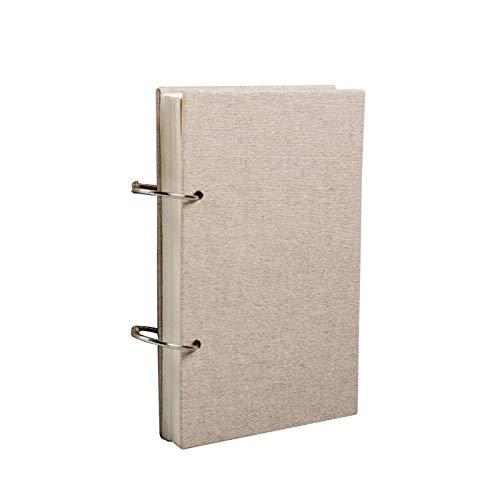 Cuaderno de dibujo A4, A5, con 120 páginas, 160 g/m² y funda dura de lino para adultos, niños, pintura de paisaje, dibujos animados