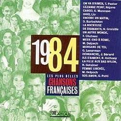 Les plus belles chansons françaises 1984