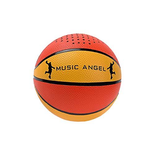 Music Angel JH-LQBT Mini Basketball Super Bass HiFi Bluetooth Lautsprecher Guter Sound mit Mikrofon-Freisprecheinrichtung Anrufabholung für Smartphone