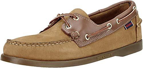 Sebago Men's Spinnaker Shoe,Tan/Tan,8 W US