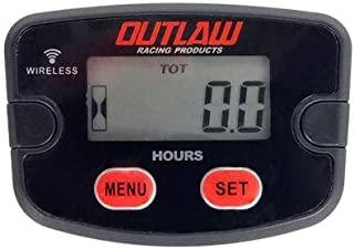 OutlawRacing Digital Vibration Wireless Hour Meter