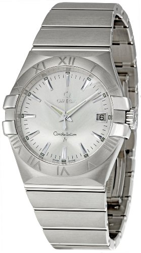 Omega Men's 123.10.35.60.02.001 Constellation 09 Silver Dial Watch