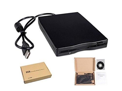 "HaoYiShang 3,5\""Externes Diskettenlaufwerk USB 2.0 Tragbarer 1.44MB Leser FDD PC Laptop"