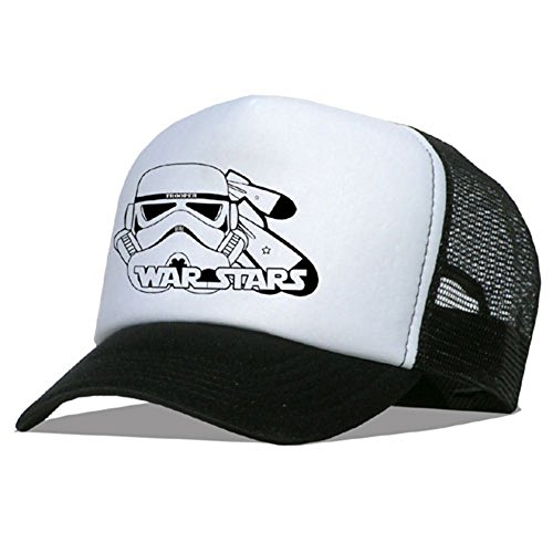 Raphia type Trooper AS Casquette en maille, A Stars/Black