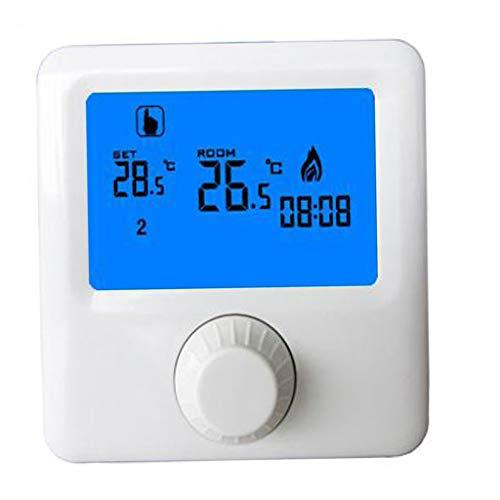 MERIGLARE Termostato de HY06BW Controlador de Temperatura...