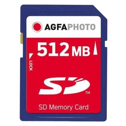 AgfaPhoto Secure Digital (SD) 512MB Speicherkarte